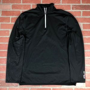 Ralph Lauren RLX 1/4 zip pullover golf wicking L
